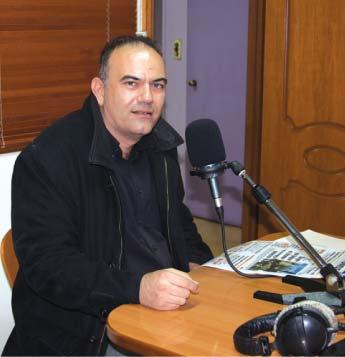 Συνέντευξη του Νεκτάριου Δαπέργολα στο Ράδιο Χρόνος