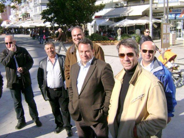 Η Παρουσία του Σπάρτακου στο Εκλογικό Κέντρο στην Κεντρική Πλατεία Κομοτηνής