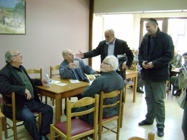 Επίσκεψη του Σπάρτακου στο ΚΑΠΗ Κομοτηνής