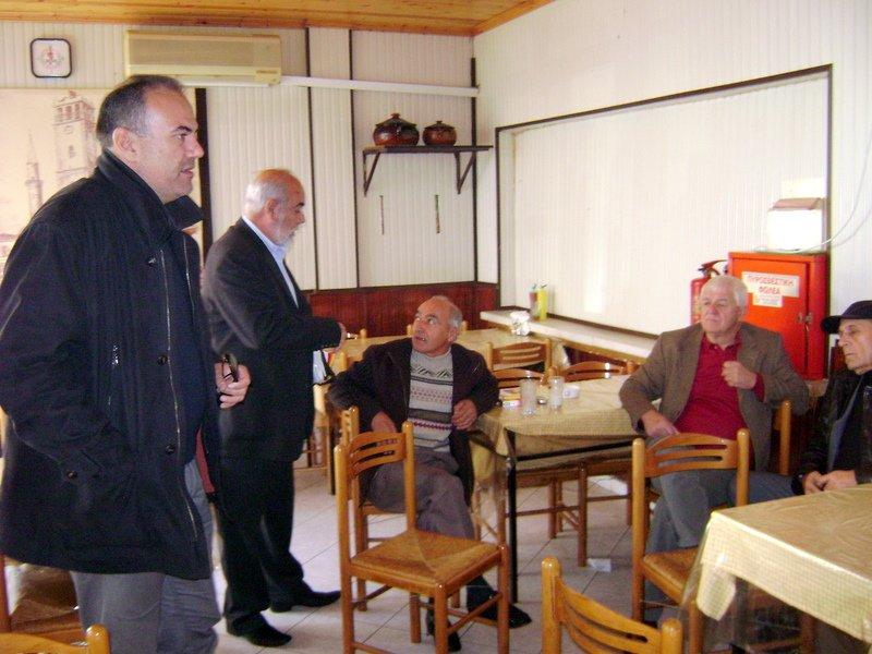 Επίσκεψη του Σπάρτακου στη Δημοτική Αγορά Κομοτηνής